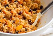 Quinoa / Delicious Clean Eating Quinoa Recipes - love it more than pasta! / by iFOODreal