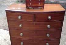 Antique chest of draws, chest on chest / Antique chest of draws.  Wellington chest