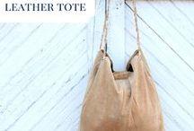 DIY | Leather bag