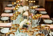 Set the Table / Beautiful and creative table settings / by Peabodies Glasshouse