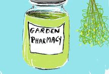 Herbal health & home remedies / Herbalists home recipes - The Garden Pharmacy