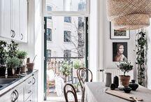 Cocinas { Interiores } / Cocinas. Nordicas y minimalistas, shabby y clásicas, pero siempre con estilo.