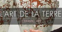 L'Art de la Terre / Ceramic Art / À la découverte de la diversité et de la richesse des métiers d'art… bienvenue dans l'univers de la Céramique !  Retrouvez sur ce tableau l'expression artistique des créateurs du salon Révélations que vous pourrez retrouver du 3 au 8 mai 2017 au Grand Palais à Paris.