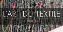 L'Art Textile / Textile Art / À la découverte de la diversité et de la richesse des métiers d'art… bienvenue dans l'Art du Textile ! Retrouvez sur ce tableau l'expression artistique des créateurs du salon Révélations que vous pourrez retrouver du 3 au 8 mai 2017 au Grand Palais à Paris.