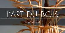 L'Art du Bois / Wood Art / À la découverte de la diversité et de la richesse des métiers d'art… bienvenue dans L'Art du Bois & l'Ébénisterie d'Art ! Retrouvez sur ce tableau l'expression artistique des créateurs du salon Révélations que vous pourrez retrouver du 3 au 8 mai 2017 au Grand Palais à Paris.