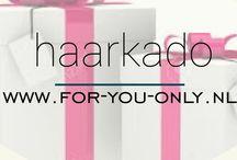Haarkado voor Haar & Hem  / Als je een kado zoekt waarmee je de ontvanger echt verwent, dan is een For-You-Only Haarpakket altijd een goed idee!