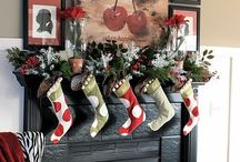 Christmas decor/food / by Ashley Wetherbee