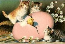 Easter vintage cards
