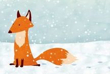 Raposa ♥ Porco ♥ Coruja ♥ {Fox . Pig . Owl}