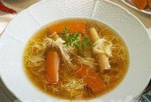 Levesek / Soups - Hungarian recepies