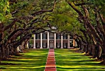 Southern Charm / Antebellum Architecture / by Pat Christopherson