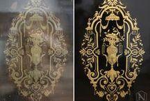 Alter Novum Przed i po /// Before and after / Konserwacja antyków, renowacja mebli, odnawianie zegarów /// Antique furniture conservation, restoration