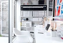desk and workspaces