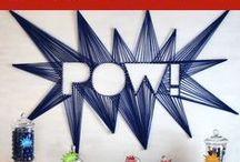Make It @MADL - String Art / TEEN Superhero String Art @ Egelston  Monday, July 13 at 4:00pm Call 231-788-6477 to register. madl.org