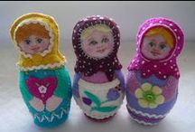 Matryoshka Inspirations / Nesting dolls ,art and objects inspired by this theme. / by Christina Lane