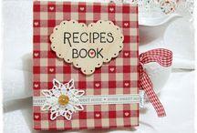 DIY recipe book / Csináld magad szakácskönyv