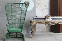 Antyki i design /// Antiques and design / Współczesne meble, stare wnętrza. Antyki i nowoczesne przestrzenie. Miks tego co nowe i stare. /// Modern furniture in old interiors, antiques and design furnitures. Eclectic style.
