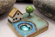 keramika domečky a netřeskovníky