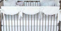 Custom Linen Baby Bedding