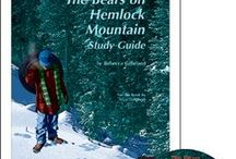 Bears on Hemlock Mountain Enrichment Activities / Projects and activities for Progeny Press literature & reading study guide, Bears on Hemlock Mountain by Alice Dalgliesh. Newbery Award winner. Colonial America, bears, hibernation. Lesson plans, unit studies, teacher resource curriculum, and hands on ideas.