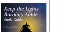 Keep the Lights Burning, Abbie Enrichment Activities / Projects and activities for Progeny Press literature & reading study guide, Keep the Lights Burning, Abbie by Peter and Connie Roop. Reading Rainbow book.  Abbie Burgess Grant, lighthouse keeper, Matinicus Rock, Maine, 1856, chickens. Lesson plans, unit studies, teacher resource curriculum, and hands on ideas.