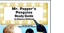 Mr. Popper's Penguins Enrichment Activities / Projects and activities for Progeny Press literature & reading study guide. Mr. Popper's Penguins by Richard and Florence Atwater. Newbery Honor Book, Young Reader's Choice Award, Lewis Carroll Shelf Award. Penguins, house painting, Vaudeville, Arctic explorers, James Cook, Antarctic, New York City. Lesson plans, unit studies, teacher resource curriculum, and hands on ideas.