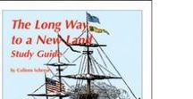 Long Way to A New Land  Enrichment Activities / Projects and activities for Progeny Press literature & reading study guide, The Long Way to a New Land by Joan Sandin. HarperCollins I Can Read level 3. Sweden, immigration, Ellis Island, New York, Statue of Liberty, 1868. Lesson plans, unit studies, teacher resource curriculum, and hands on ideas.