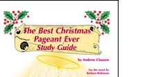 Best Christmas Pageant Ever  Enrichment Activities / Projects and activities for Progeny Press literature & reading study guide, Best Christmas Pageant Ever by Barbara Robinson. ALA Notable Children's Book, Georgia Children's Book Award, Library of Congress Children's Books, Maud Hart Lovelace Book Award, Young Hoosier Book Award. Holidays, school plays, church plays, Nativity. Lesson plans, unit studies, teacher resource curriculum, and hands on ideas.