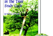Sword in the Tree  Enrichment Activities / Projects and activities for Progeny Press literature & reading study guide, The Sword in the Tree by Clyde Robert Bulla. King Arthur, medieval, Middle Ages, sword, castle, knights, Camelot, Knights of the Round Table. Lesson plans, unit studies, teacher resource curriculum, and hands on ideas.
