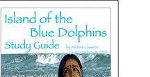 Island of the Blue Dolphins Enrichment Activities / Projects and activities for Progeny Press literature & reading study guide, Island of the Blue Dolphins by Scott O'Dell. Newbery Medal winner, Lewis Carroll Shelf Award, William Allen White Children's Book Awards, Hans Christian Andersen Award, Regina Medal. Survival, Pacific Ocean, dolphins, cormorants, dog, San Nicolas Island, Santa Barbara, California, Nicoleño Native American.  Lesson plans, unit studies, teacher resource curriculum, and hands on ideas.