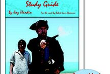 Treasure Island Enrichment Activities / Projects and activities for Progeny Press literature & reading study guide, Treasure Island by Robert Louis Stevenson.  #36 on the Big Read List (UK's top 200). Pirates, Buccaneers, mutiny, treasure map, tropical island, England. Lesson plans, unit studies, teacher resource curriculum, and hands on ideas.