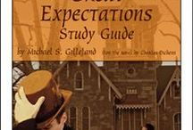 Great Expectations Enrichment Activities / Projects and activities for Progeny Press literature & reading study guide, Great Expectations by Charles Dickens. #17 on the Big Read List (UK's top 200).Kent, London, England, early 1800s, convict, prison ships, blacksmith, wealth and gentility, coming-of-age. Lesson plans, unit studies, teacher resource curriculum, and hands on ideas.