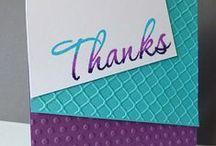 Karten - Danke