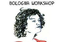 Performing Gender Illustrators // Cristina Portolano / Comic and sketches by Cristina Portolano describing #performinggender #bolognaworkshop from the point of view of Vlasta Delimar