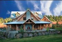 Log Cabins / Different exteriors of log cabins to browse.