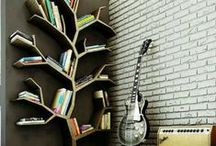 Books as decoration