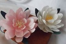 Tissue paper and Crepe paper flowers / by Patty Itosu