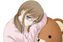 anime illust / It is the illustrations Mimikuma drew.