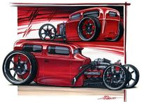 Car Art / Car Art / by Tom Dillion