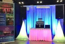 Being Creative With Pipe And Drape! / PipeAndDrapeOnline.com has the products to help you create some incredibly stunning backdrops! See how our customers and others use pipe and drape to enhance their space.