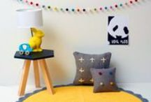 Kids Room Inspiration & Decor / Here you will find lots of inspiration to finish a children's bedroom in style