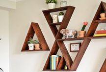 DIY im Wohnzimmer / Wohnzimmer einrichten, Wohnzimmerwände gestalten, Kommoden und Schränke selber machen: Finde hier Inspiration und DIY Ideen für Dein Lieblings-Wohnzimmer.