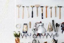 DIY - Werkstatt / DIY Ideen mit denen sich die Hobbywerkstatt selber einrichten lässt. Von der DIY Werkzeugkiste über DIY Ideen zur Aufbewahrung und Organisation von Werkzeugen.