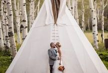 our weddings / Elegang outdoor  Weddings at The Flying Diamond Ranch in Steamboat Springs, Colorado.