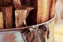 Kupfer & Holz im Used Look / DIY Projekte, Interior Design, Ideen für die eigenen 4 Wände im Vintage & Steampunk Style. Trendfarbe Kupfer und Bestandsmaterial Holz.