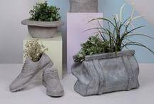Feines aus Beton - DIY Ideen / DIY Projekte für kleine, feine Dekorationen aus Beton. Hart aber Herzlich.