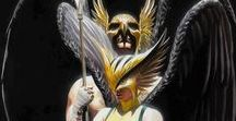 Hawkman/Hawkgirl / Pictures and art of the best superhero couple in comics!