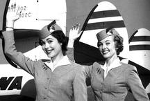 Vintage Flight Attendants / Photos and ephemera from vintage flight attendants