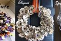 Wreaths and Hangers / Wreaths aren't just for the winter holidays! Display your seasonal wreaths on the interior and exterior of your home with wreath hooks and hangers from Fine Home Displays