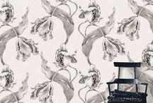 { floral wallpaper }